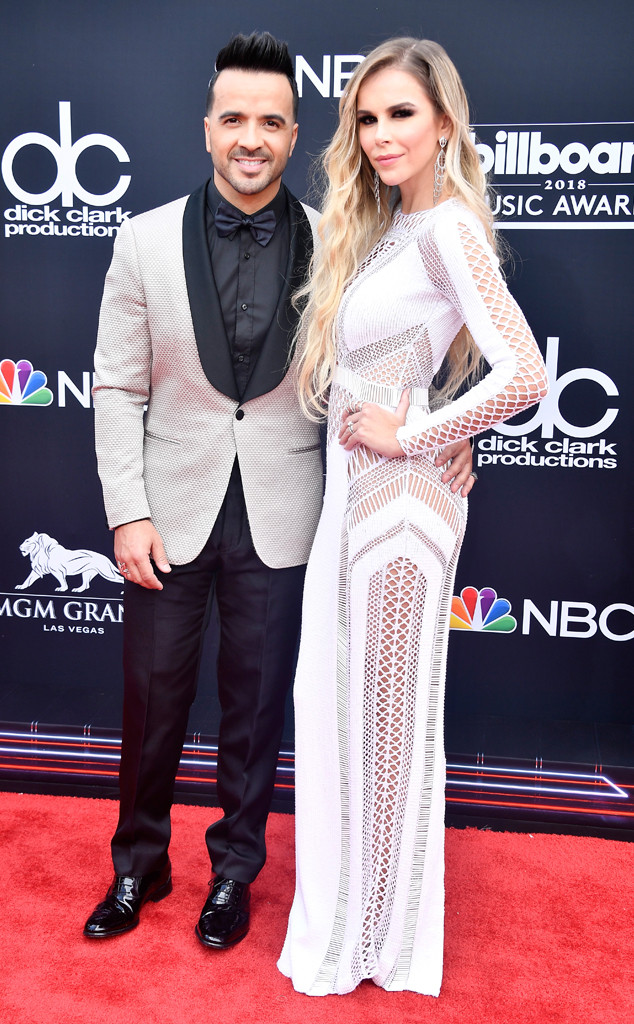 Luis Fonsi, Agueda Lopez, 2018 Billboard Music Awards, Arrivals, Couples