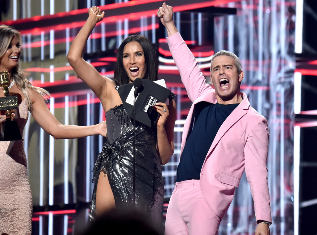 Padma Lakshmi, Andy Cohen, Billboard Music Awards 2018