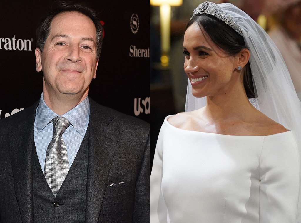 Aaron Korsh, Meghan Markle, Royal Wedding