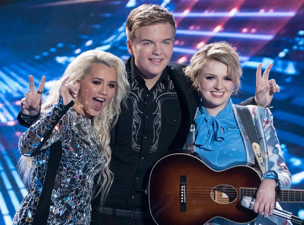American Idol Finale, Gabby, Caleb, Maddie