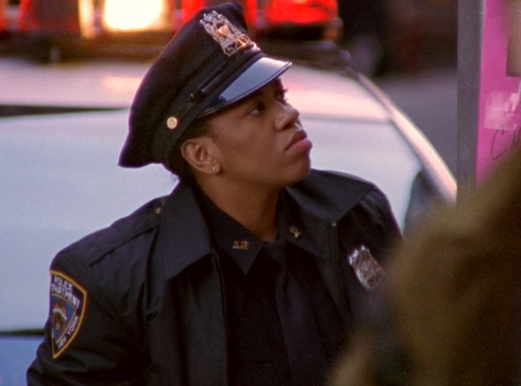 """Chandra Wilson -  The Grey's Anatomy star makes a brief appearance in """"Anchors Away"""" (Season 5) as a police officer who gets in a scuffle with Samantha over flyers."""