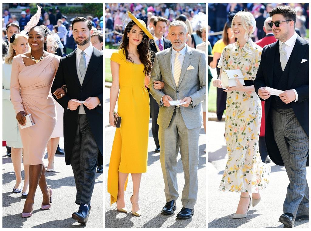 ESC: Amal Clooney, George Clooney, Carey Mulligan, Marcus Mumford, Alexis Ohanian, Serena Williams