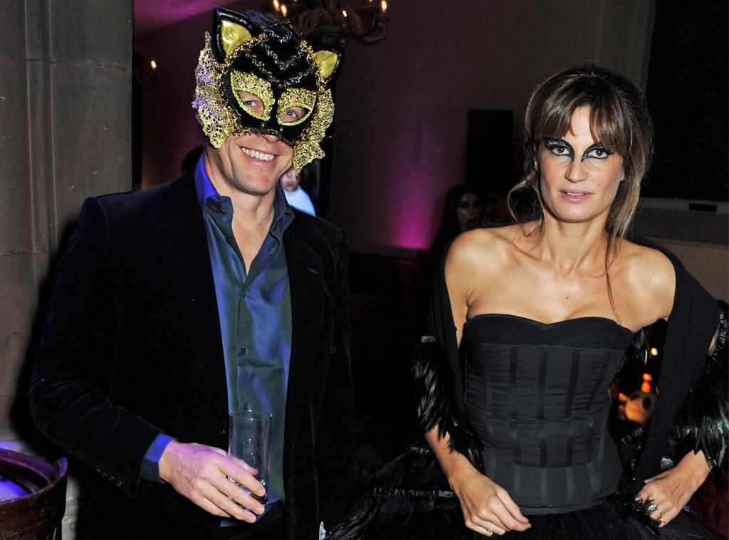 Hugh Grant, Jemima Khan, Halloween 2013