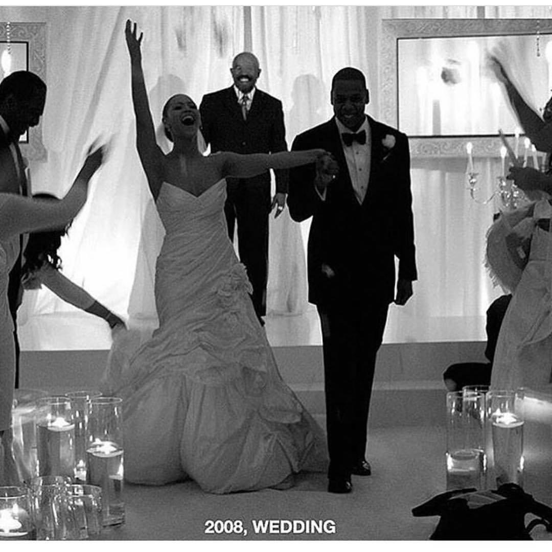 Beyonce, Jay-Z, wedding