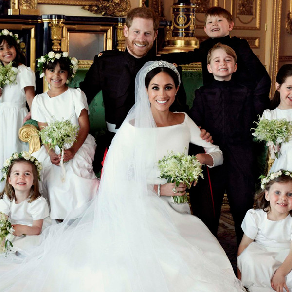 Prince Harry and Meghan Markle's Official Wedding Portraits Revealed