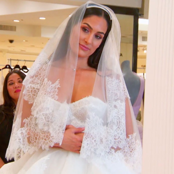 Nikki Bella Is Not Excited About Trying on Wedding Dresses on Total ...