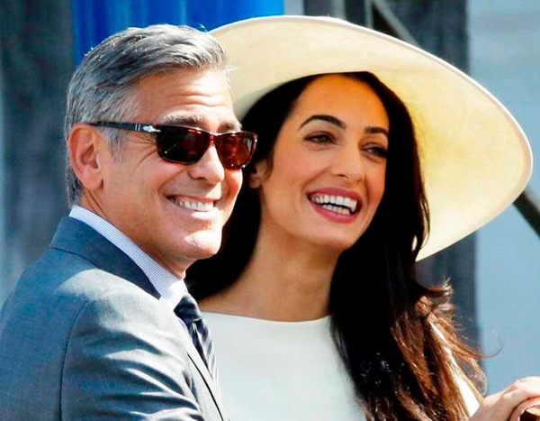 Inside the Fabulous First Year of George and Amal Clooney ...
