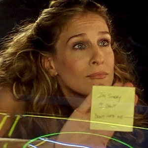 Sarah Jessica Parker, Post-it Note Breakup