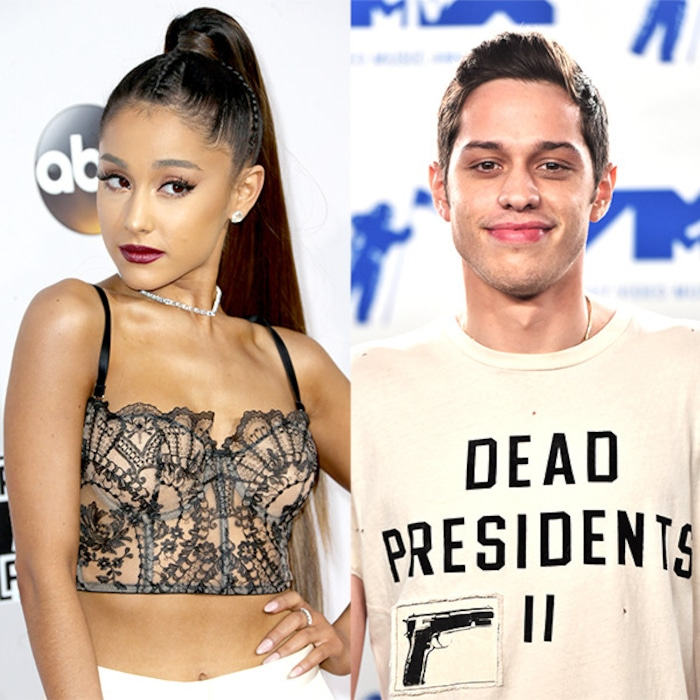 Image result for ariana pete davidson