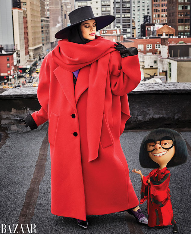 Harper's Bazaar, Edna Mode, June/July 2018 Issue
