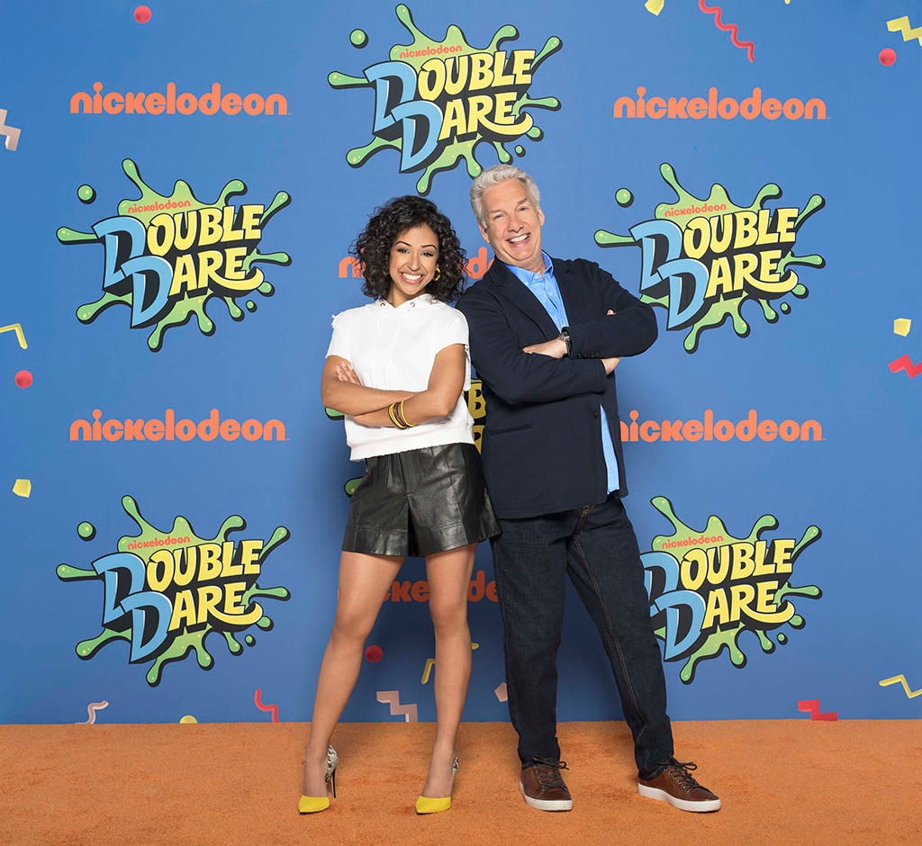 Double Dare, Marc Summers, Liza Koshy