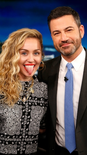 Miley Cyrus, Jimmy Kimmel Live