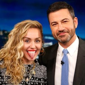 Miley Cyrus, Jimmy Kimmel Live