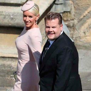 James Corden, Julia Carey, Royal Wedding Arrivals