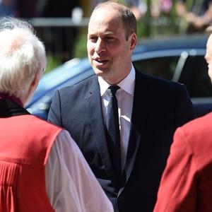 Prince William, Manchester