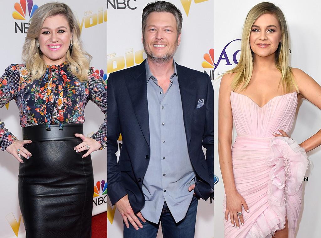 Kelly Clarkson, Blake Shelton, Kelsea Ballerini