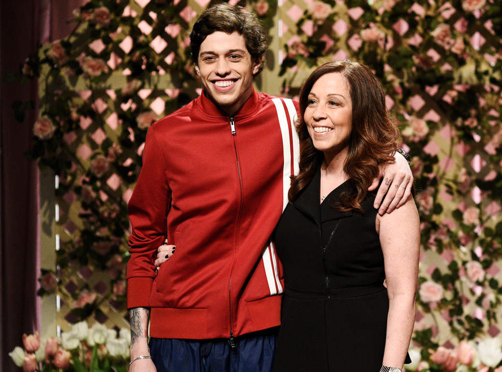 Pete Davidson, SNL, Saturday Night Live, Mother, Amy Waters Davidson