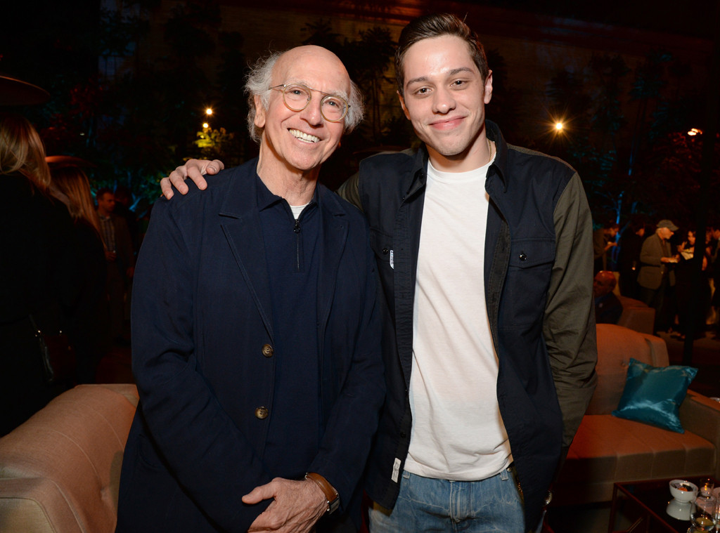Pete Davidson, Larry David