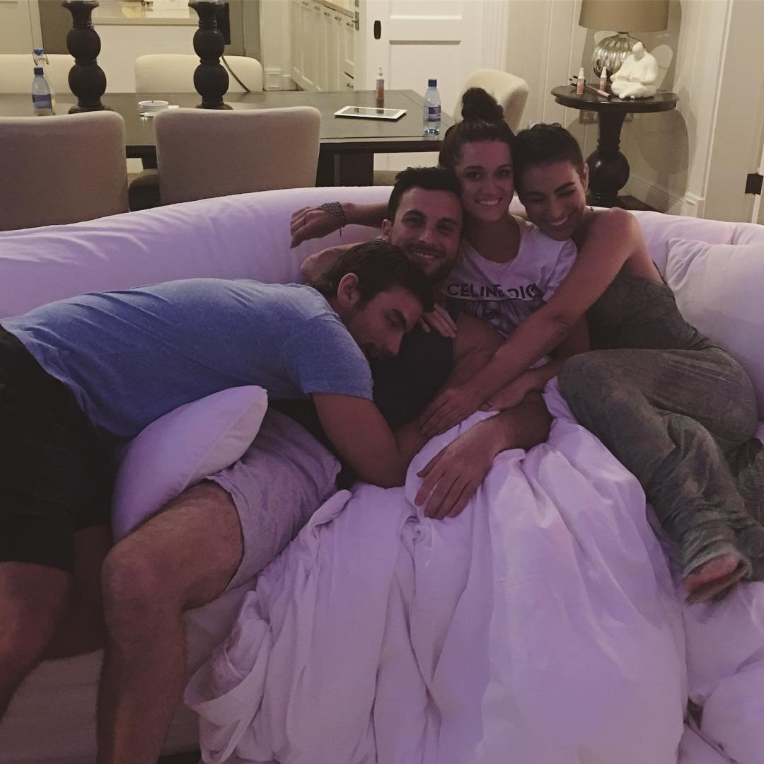 Ashley Iaconetti, Jared Haibon, Jade Tolbert, Tanner Tolbert