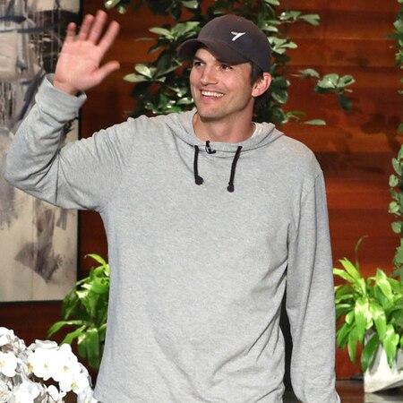 Ashton Kutcher Shocks Ellen DeGeneres With a $4 Million Donation