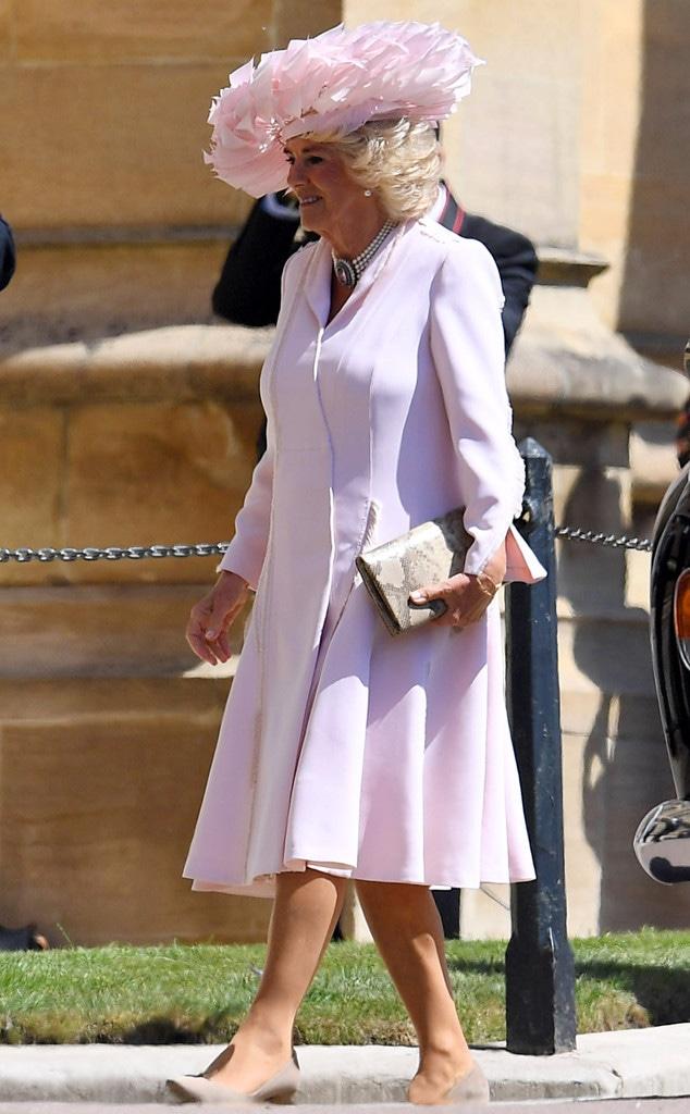 Camilla Duchess of Cornwall, Camilla Parker-Bowles, Royal Wedding, Guests, Arrivals