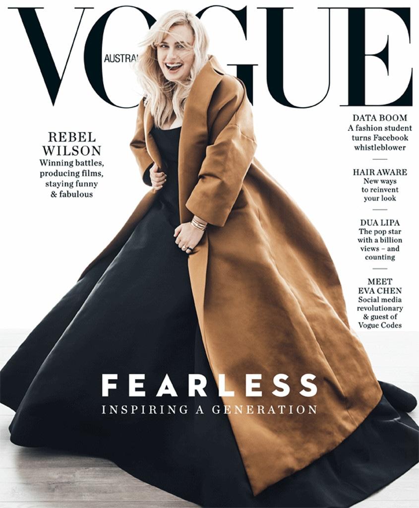 Rebel Wilson, Vogue, Cover, 2018