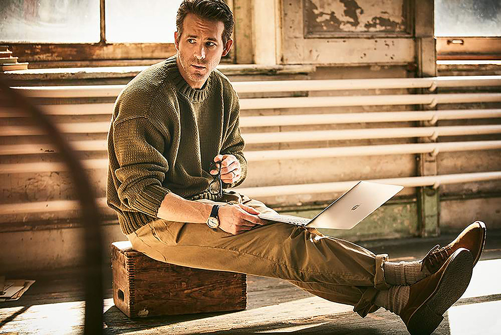Ryan Reynolds, Mr. Porter