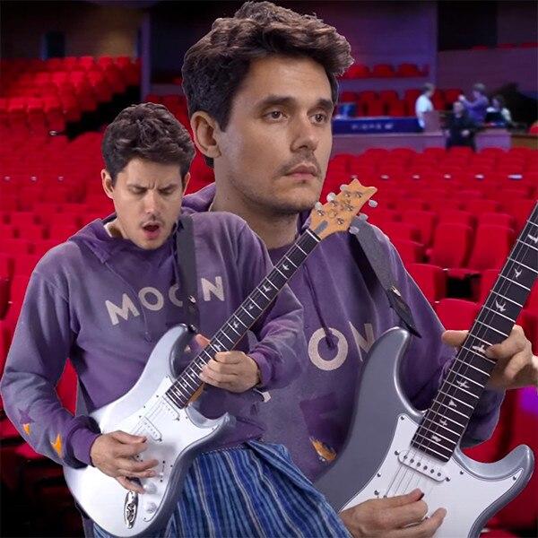 John Mayer S Cheesy New Light Video Is So Bad It S Good E News