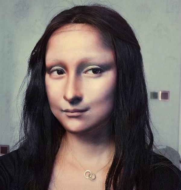 Maquiagem Monalisa