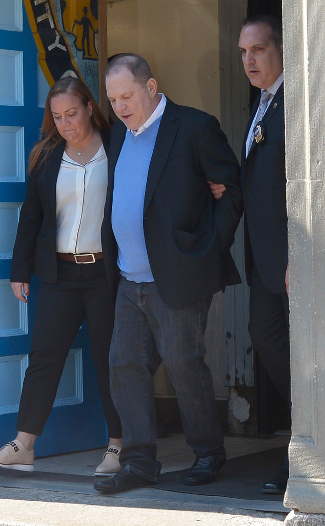 Harvey Weinstein, Handcuffed