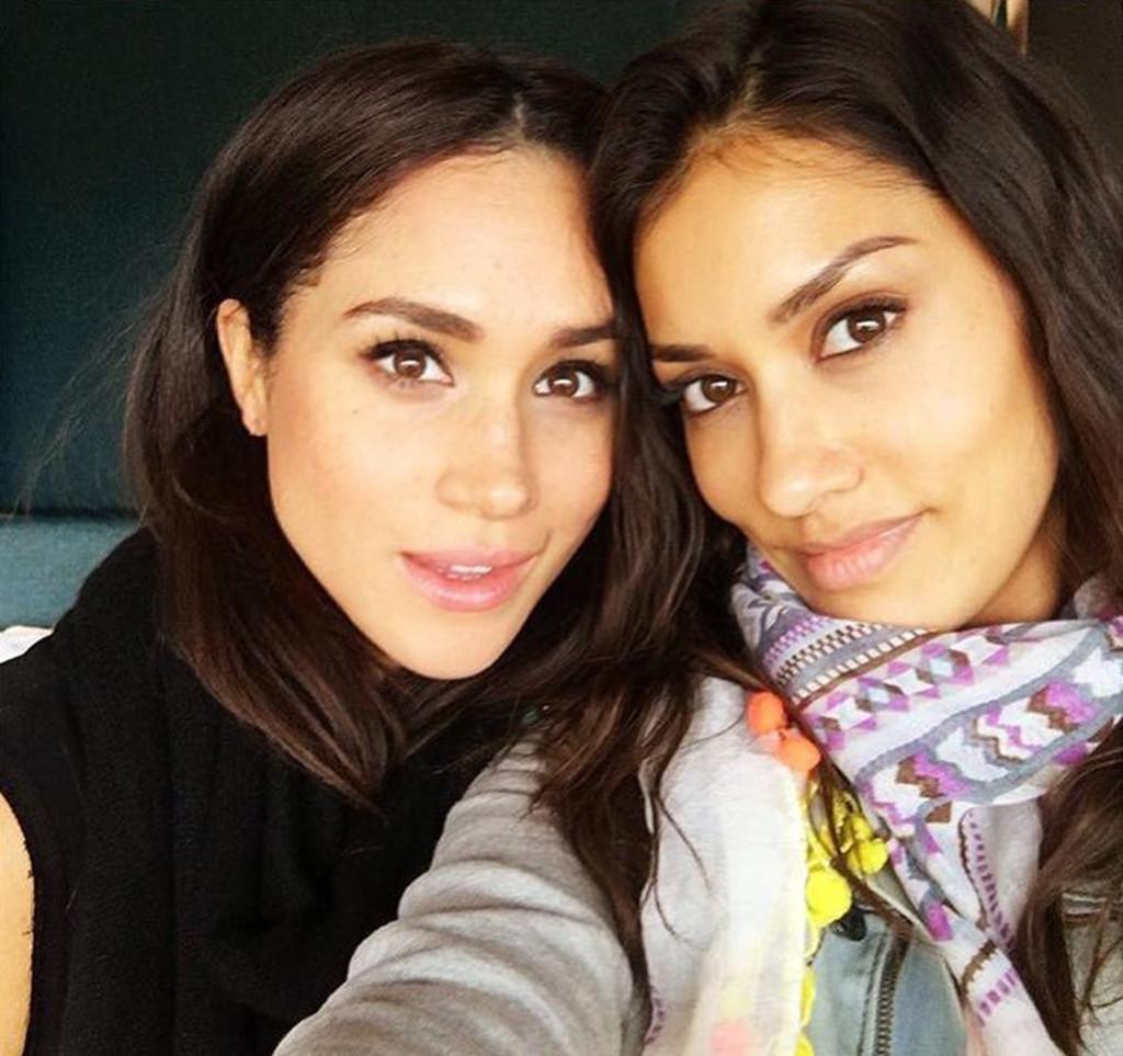 Janina Gavankar, Meghan Markle, Instagram