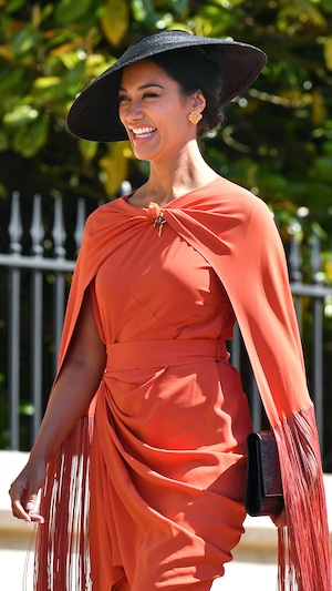 Janina Gavankar, Royal Wedding, Arrivals
