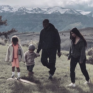Kim Kardashian, Kanye West, North West, Saint West, Wyoming