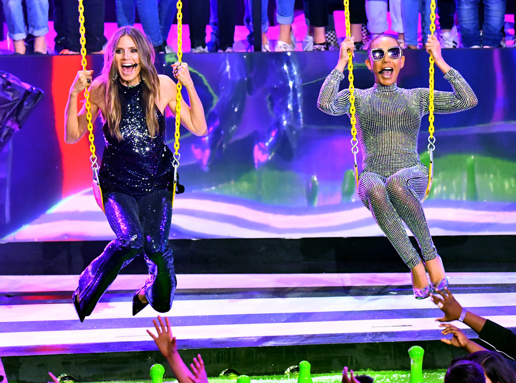 Heidi Klum, Mel B, Nickelodeon Kids Choice Awards 2018