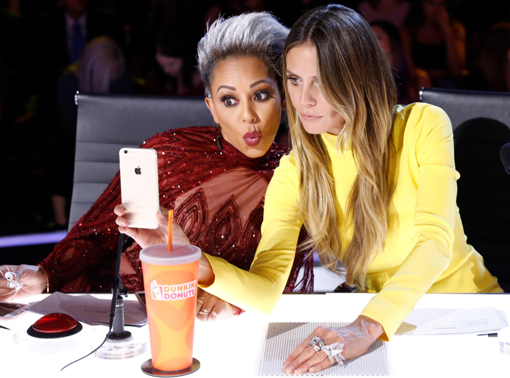 Heidi Klum, Mel B, America's Got Talent