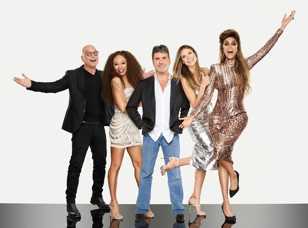 Americas Got Talent Judges, Howie Mandel, Mel B, Heidi Klum, Tyra Banks