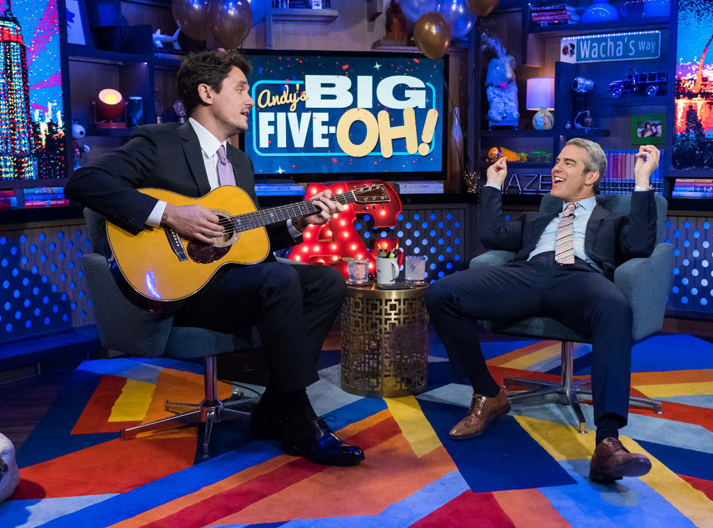 Watch What Happens Live, Andy Cohen, John Mayers
