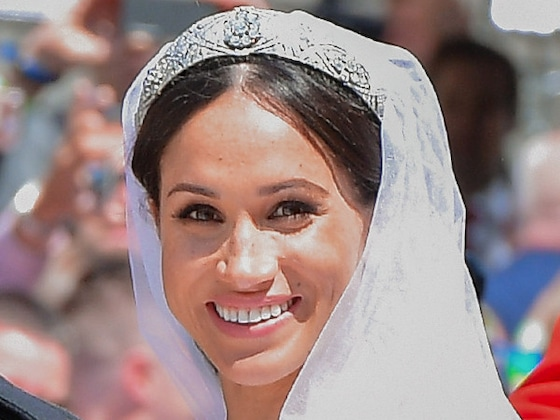 Watch Meghan Markle See Her Finished Bridal Gown Just Before the Royal Wedding