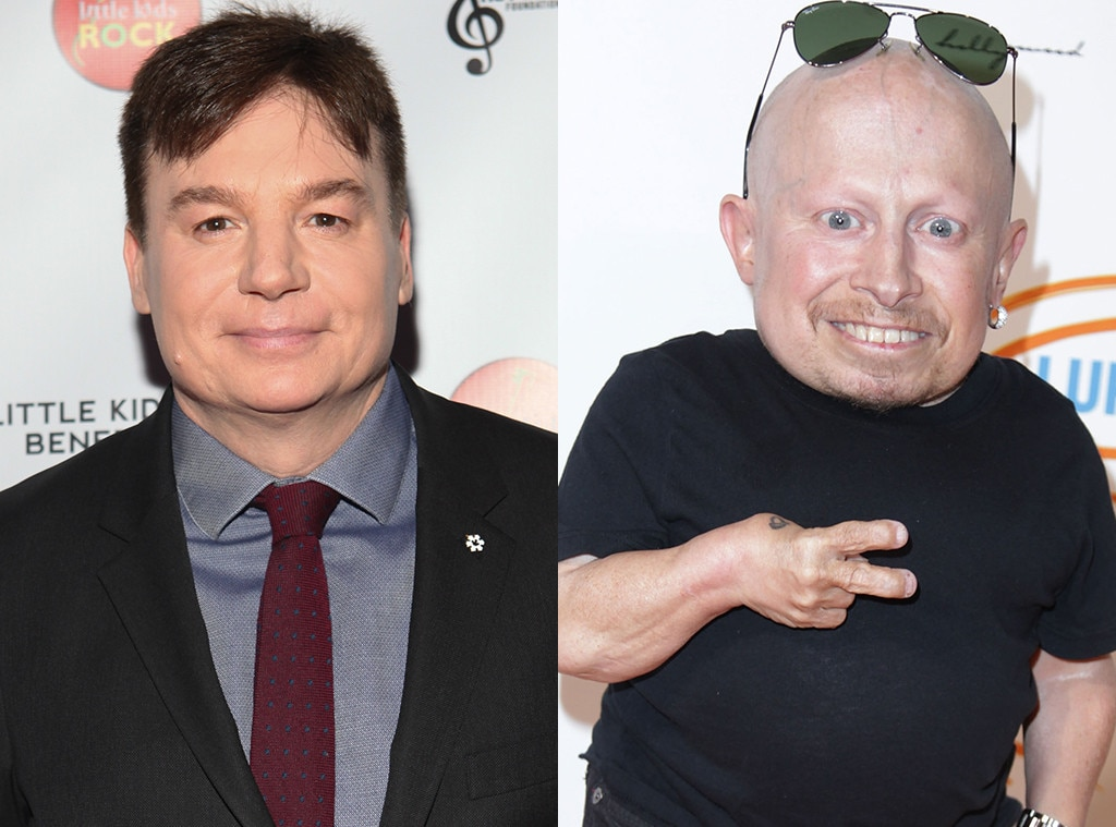 Mike Myers Tears Up Reminiscing About 'Austin Powers' Co-Star Verne Troyer