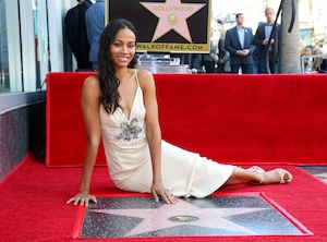 Zoe Saldana, Hollywood Walk of Fame