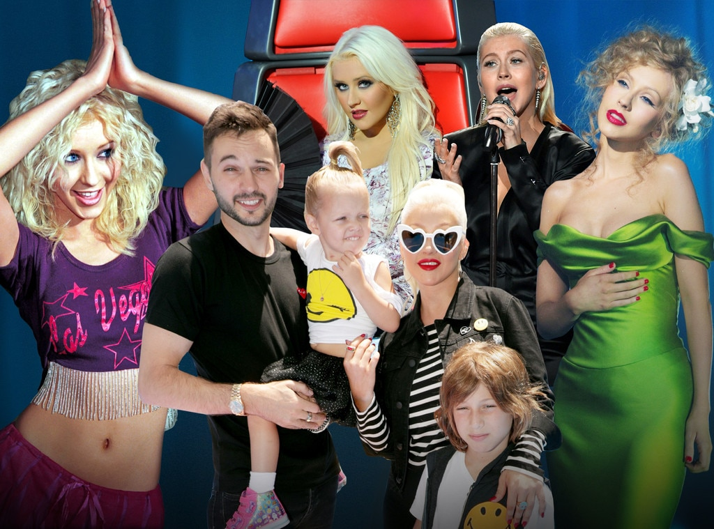 Christina Aguilera felt trapped on The Voice