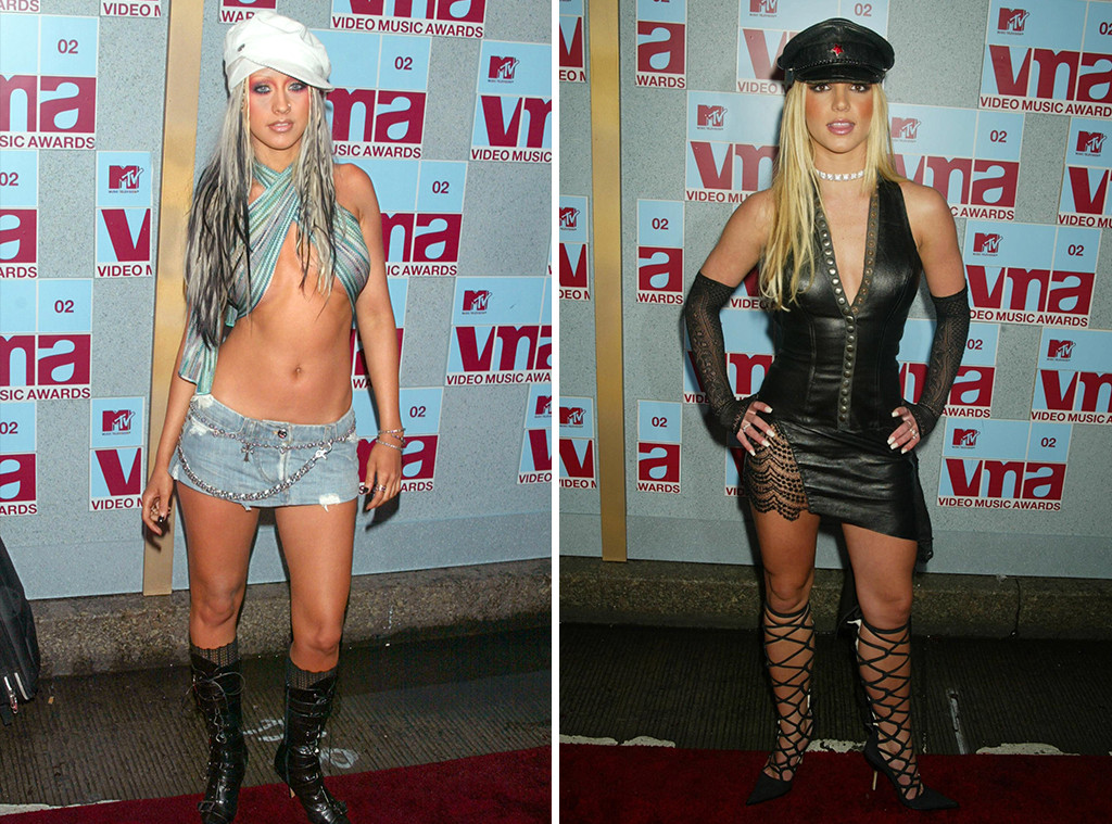Christina Aguilera, Britney Spears, 2002 MTV Video Music Awards