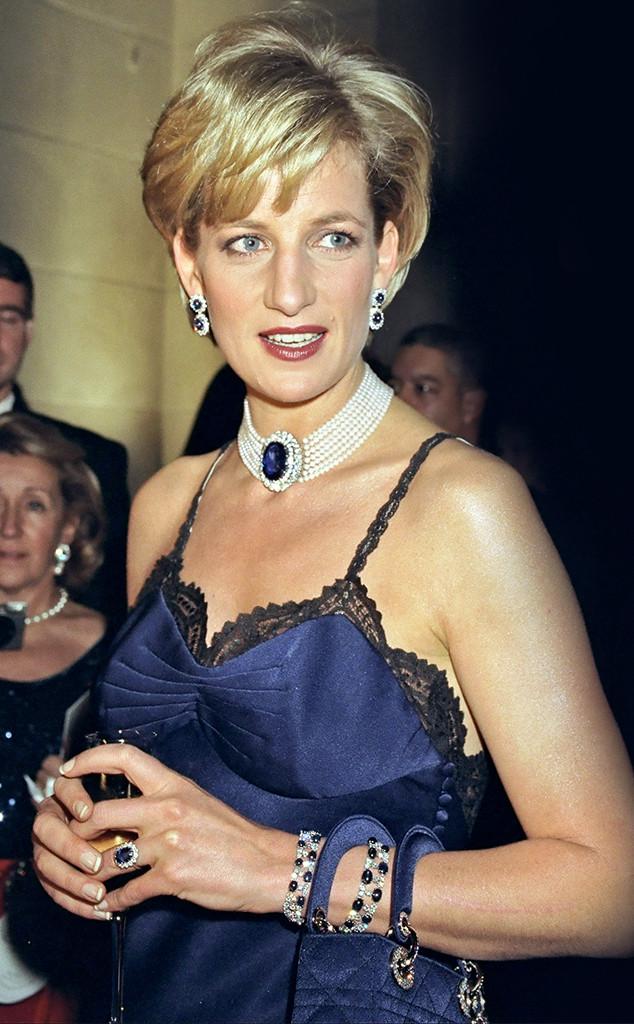 Princess Diana, 1995 MET Gala
