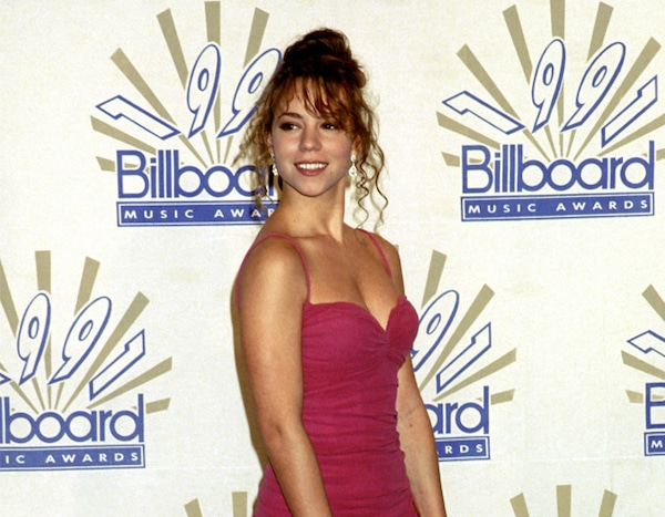 Mariah Carey 1991 From 30 Most Memorable Billboard Music Awards Outfits Of All Time