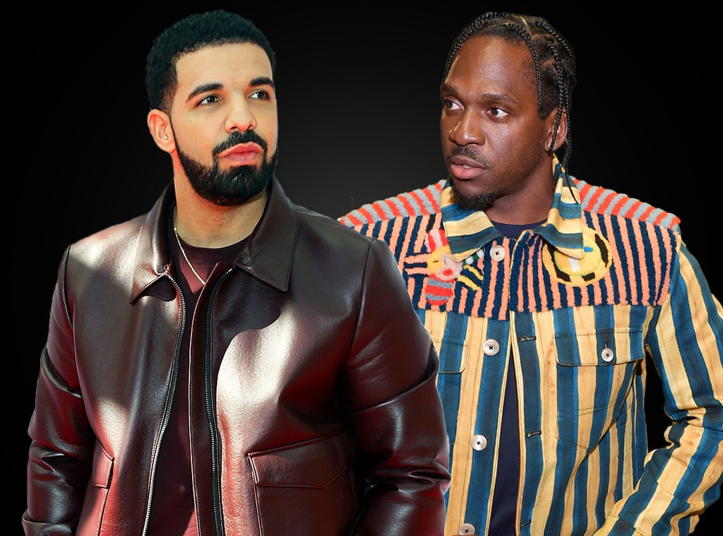"""Drake vs. Pusha T -  The rap world was rocked by a few more feuds in 2018, including the reignited one between Drake and Pusha T, which roared back to life on Pusha's track """"Infrared,"""" which mentioned  Quentin Miller , a rapper some believe has ghostwritten songs for the 6 God, with Pusha fully admitting that the song was a """"response"""" he """"held on to in regards to '2 Birds 1 Stone,'"""" a 2016 diss track in which Drake took aim at Pusha, Meek Mill and Kid Cudi. But when Drake responded with """"Duppy Freestyle"""" and mentioned Pusha's fiancée  Virginia Williams , all bets were off."""