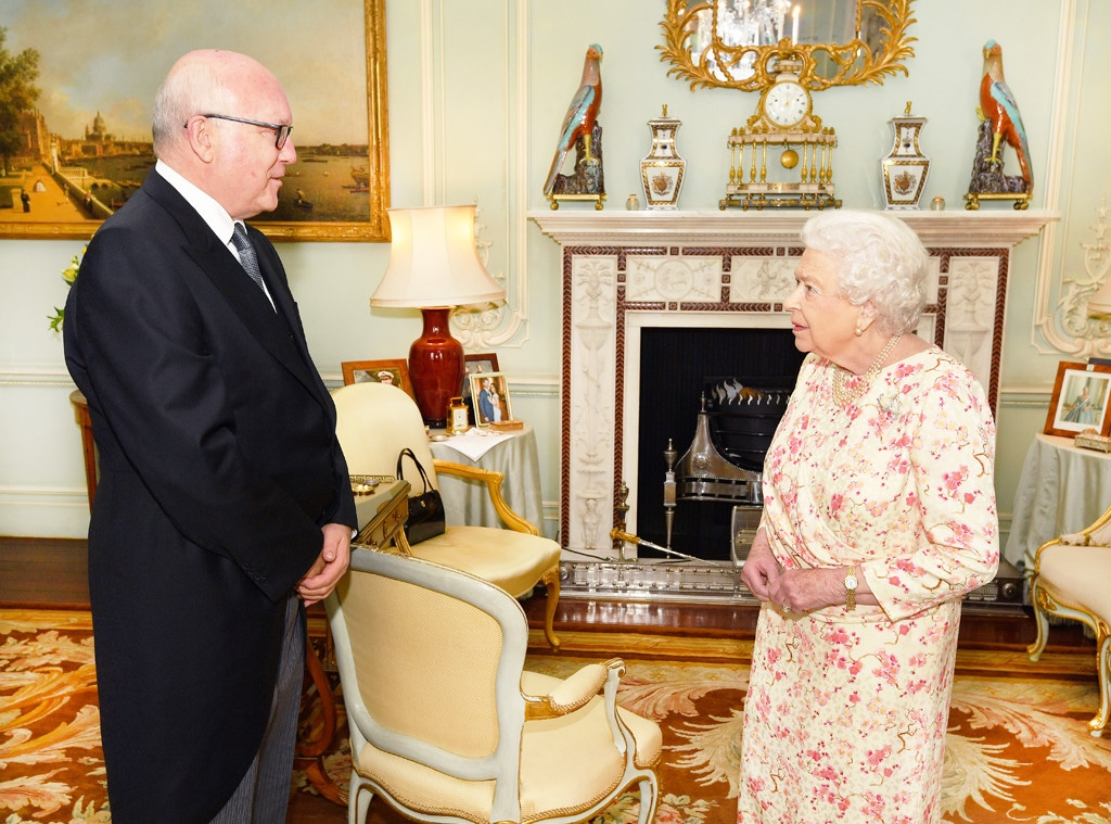 Queen Elizabeth, George Brandis, Meghan Markle, Prince Harry, Photo