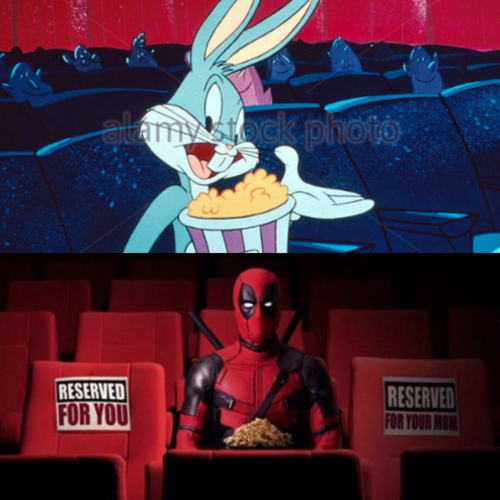 Deadpool, Bugs Bunny