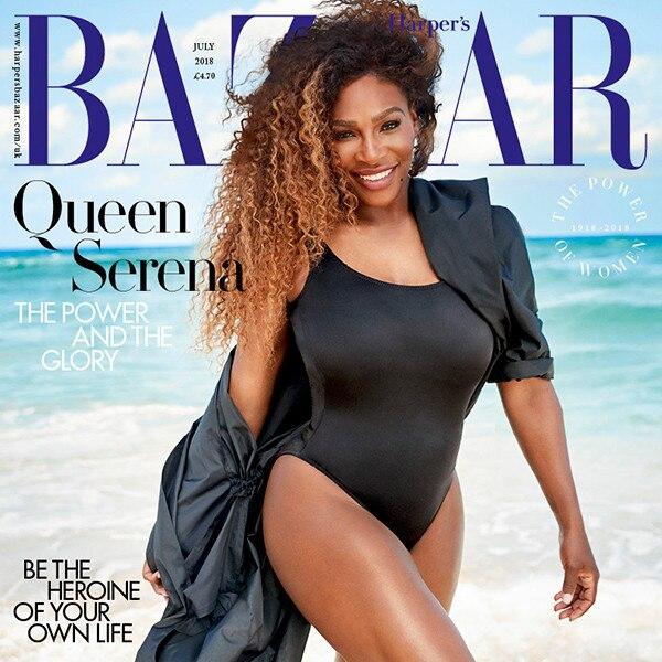 Serena williams body