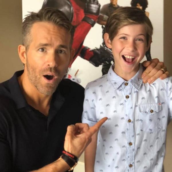 Ryan Reynolds, Jacob Tremblay, Instagram