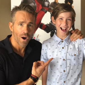 Ryan Reynolds, Jacob Tremblay, Instagram